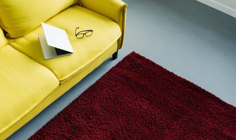 Como quitar las marcas de muebles en las alfombras