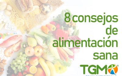 Teresa maría González Márquez, 8 consejos para comer bien