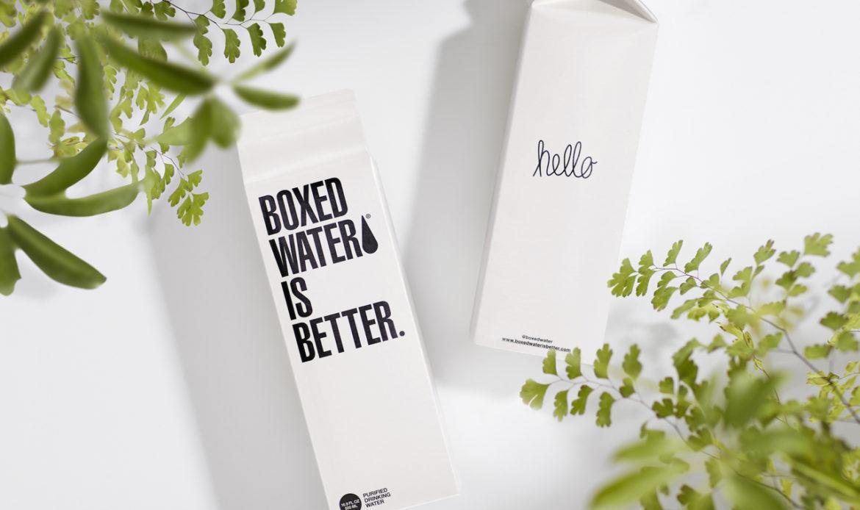 ¿El agua en caja es realmente mejor?
