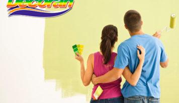 Decorán: elegir la pintura correcta para el hogar