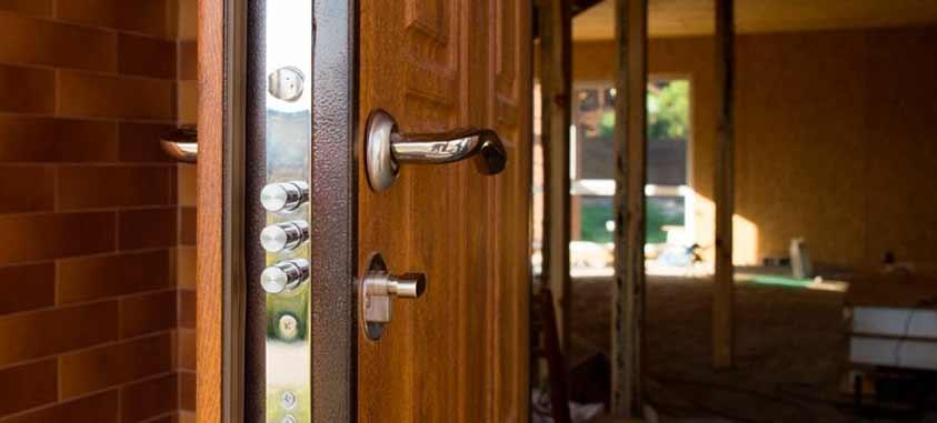 Instalación puerta blindada