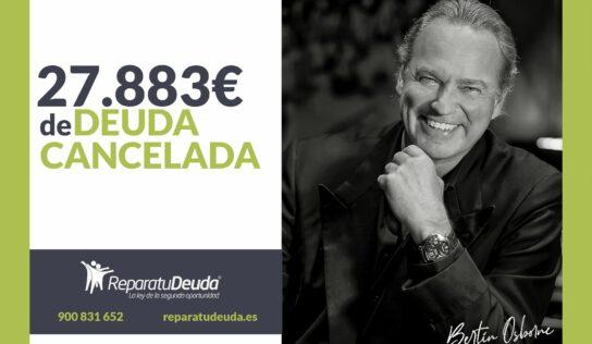 Repara tu Deuda Abogados cancela 27.883€ en Elche (Alicante) con la Ley de Segunda Oportunidad