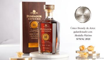 Fundador Supremo 18 se convierte en el símbolo del Brandy de Jerez
