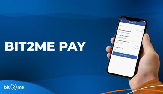 Envío y recepción de criptomonedas y euros gratis en segundos con Bit2Me Pay