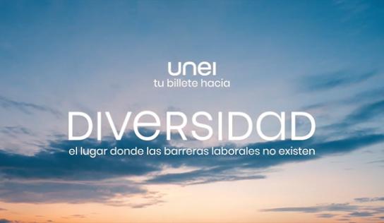UNEI invita a Diversidad, un lugar donde no existen barreras laborales para la discapacidad