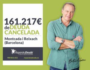 Repara tu Deuda cancela 161.217€ en Montcada i Reixach (Barcelona) con la Ley de Segunda Oportunidad
