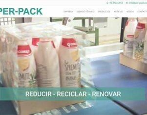 Per-pack estrena nueva página web