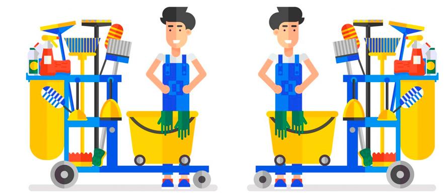 Ajuste de cuentas con una empresa de limpieza