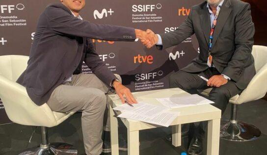Spain Film Commission y REDCAU suscriben un acuerdo de colaboración en el Festival de San Sebastián