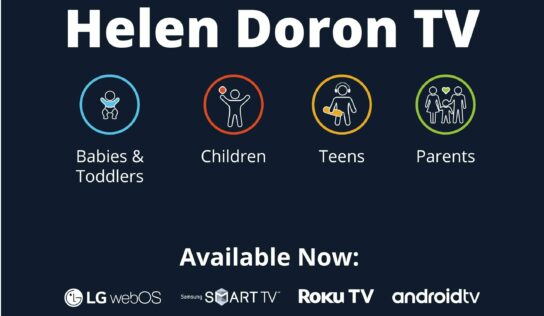 La nueva app para televisión Helen Doron ofrece una amplia variedad de contenido gratuito para todas las edades