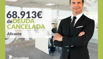 Repara tu Deuda cancela 68.193 € con deuda pública en Petrer (Alicante) con la Ley de Segunda Oportunidad