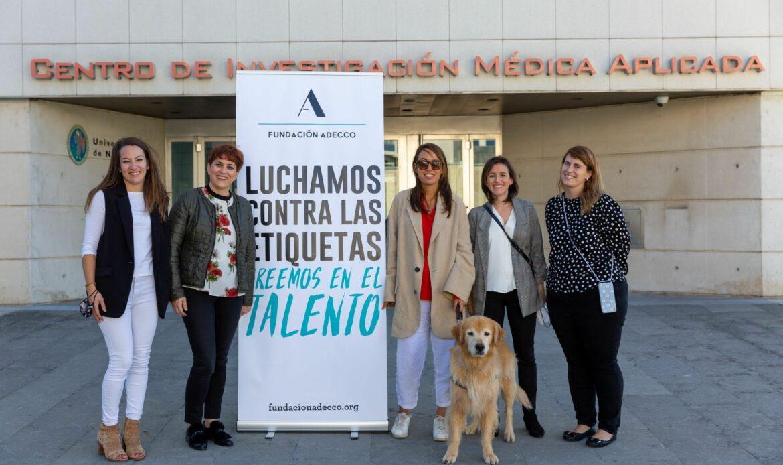 Maria Petit, embajadora de Fundación Adecco, comparte su historia vital en Navarra