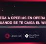 Opera GX presenta Operius, el nuevo juego arcade para jugar cuando no hay conexión